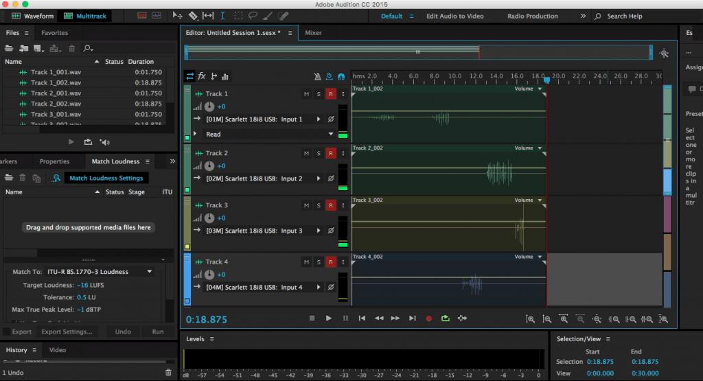 MULTITRACK RECORDING - بررسی Adobe Audition CC | فرآیند تولید پادکست