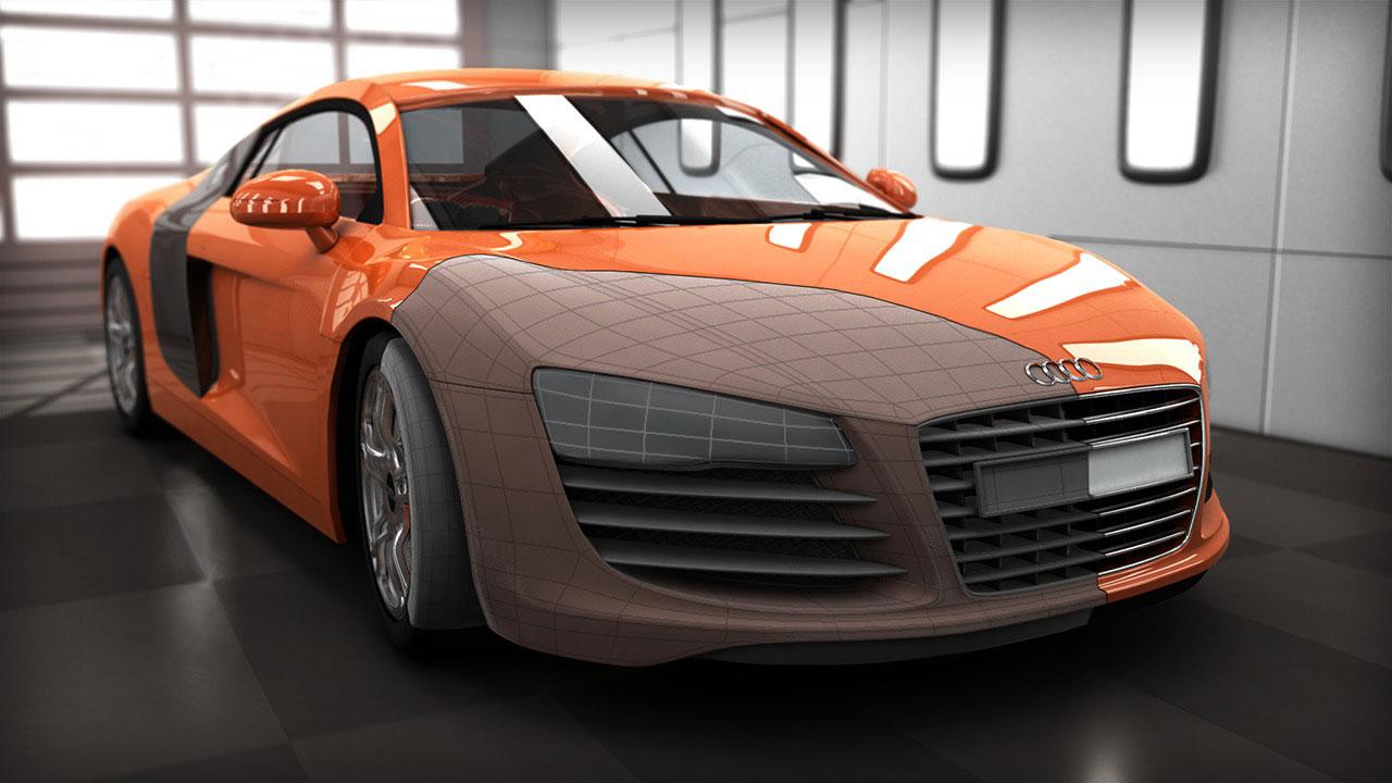automotive modeling - کاربردهای زیبراش ؛ طراحی اتومبیل با زیبراش