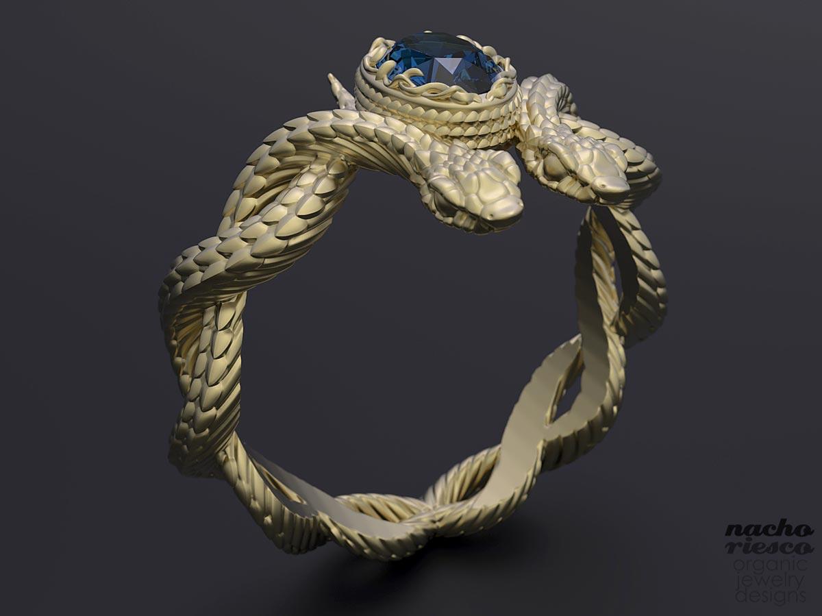 hand making - کاربردهای زیبراش ؛ طراحی جواهر با زیبراش