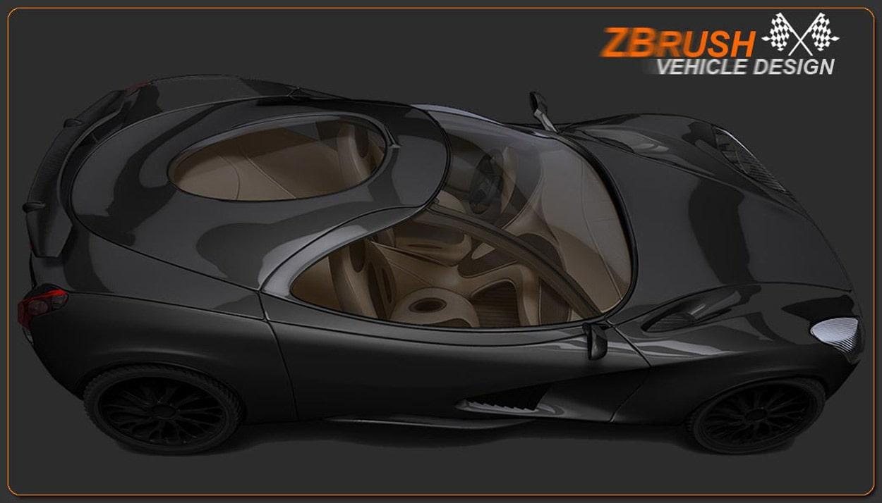 image car - کاربردهای زیبراش ؛ طراحی اتومبیل با زیبراش