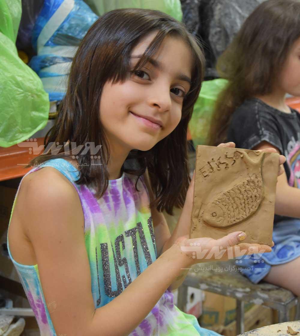 mojasame koodak 01 - آموزش مجسمه سازی به کودکان