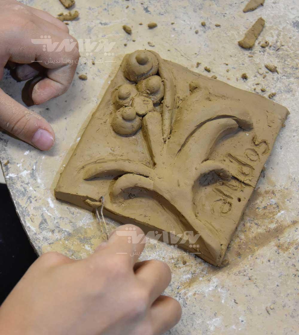 mojasame koodak 02 - آموزش مجسمه سازی به کودکان