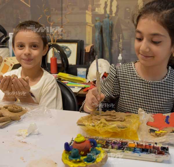آموزش مجسمه سازی به کودکان 4