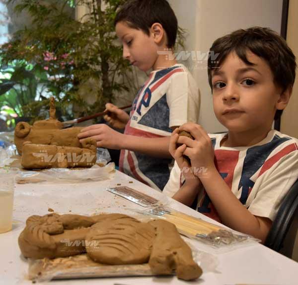 mojasame koodak 08 - آموزش مجسمه سازی به کودکان
