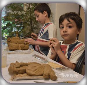 آموزش مجسمه سازی به کودکان