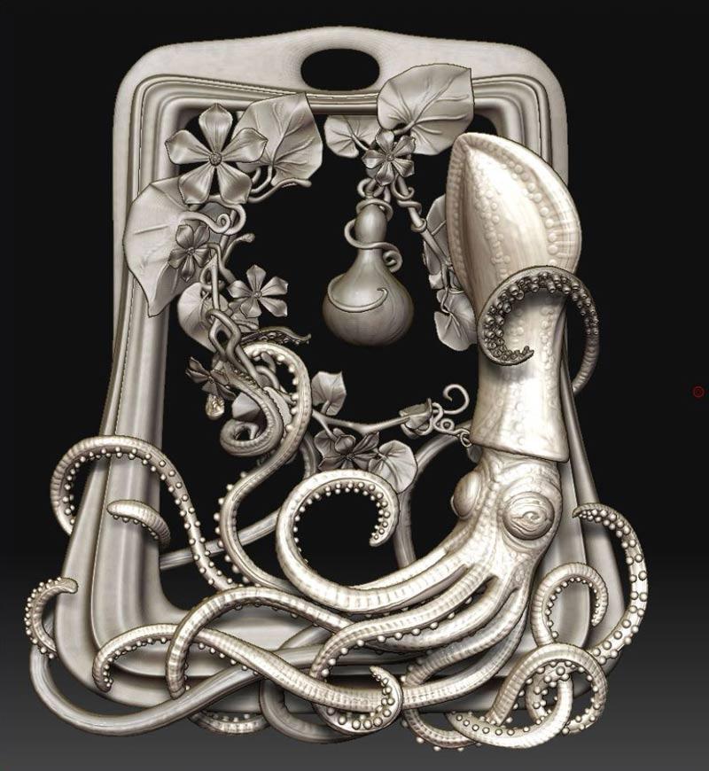 point - کاربردهای زیبراش ؛ طراحی جواهر با زیبراش