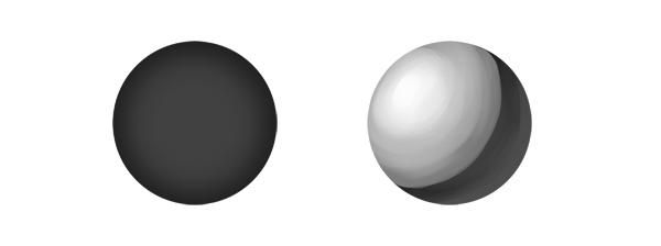 practice painting 5 lighting 4 - 7 تمرین لازم برای بهبود مهارت های نقاشی دیجیتال