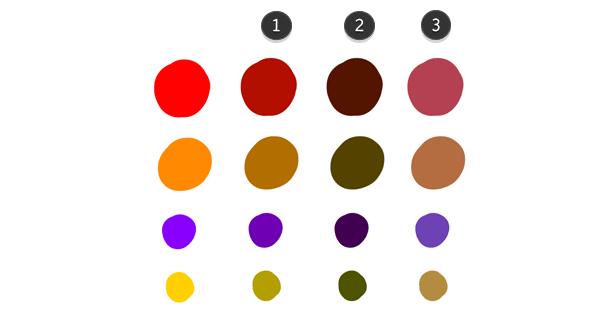 practice painting color base 2 - 7 تمرین لازم برای بهبود مهارت های نقاشی دیجیتال