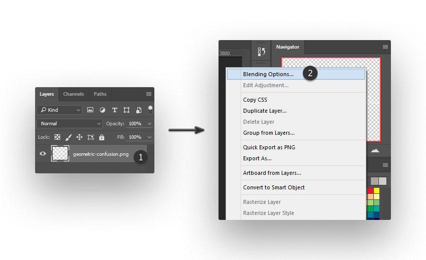 ps brush step 02 - نحوه ی ساخت قلموی سه بعدی هندسی فوتوشاپ با Cinema 4D