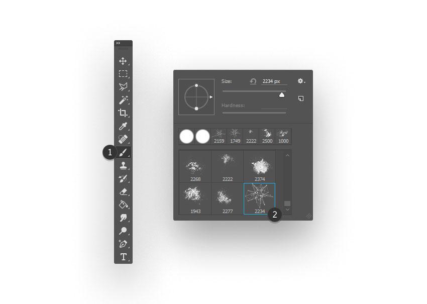 ps brush step 08 - نحوه ی ساخت قلموی سه بعدی هندسی فوتوشاپ با Cinema 4D