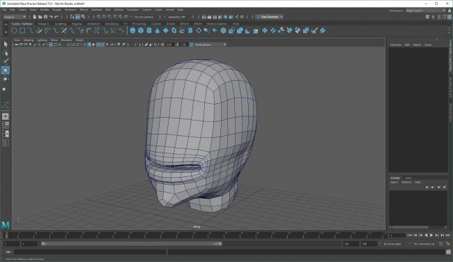 step1 blend - نحوه استفاده از اشکال ترکیبی در شخصیت های انیمیشنی