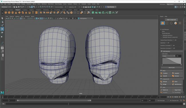 step4 blend - نحوه استفاده از اشکال ترکیبی در شخصیت های انیمیشنی