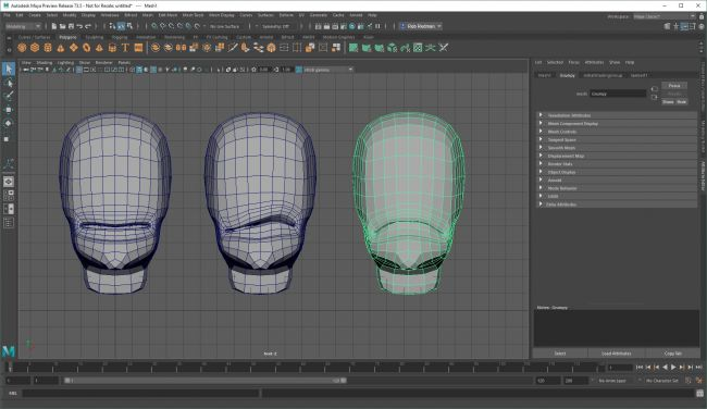 step5 blend 1 - نحوه استفاده از اشکال ترکیبی در شخصیت های انیمیشنی