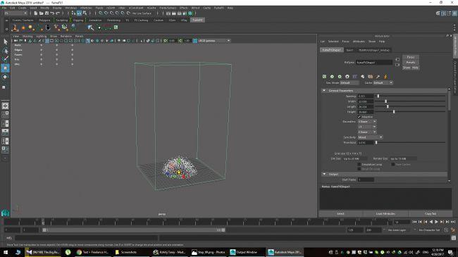 step 13 - چگونگی شبیه سازی انفجارها در نرم افزار Maya