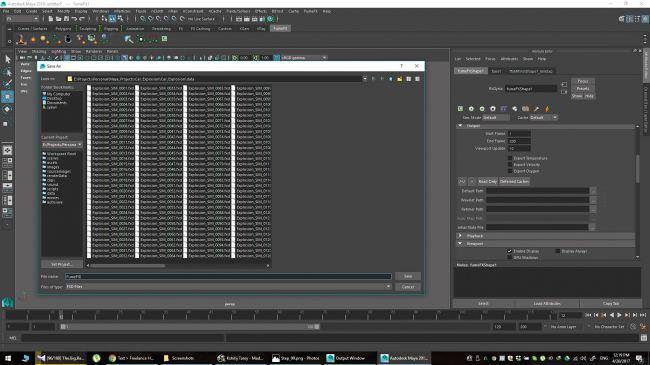 step 14 - چگونگی شبیه سازی انفجارها در نرم افزار Maya