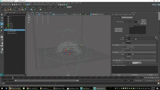 step 15 - چگونگی شبیه سازی انفجارها در نرم افزار Maya