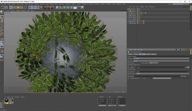 step 3 cloner - ساخت گیاهان طبیعی در Cinema 4D