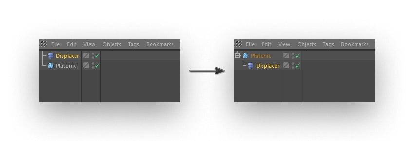 step 4 creat geometric - نحوه ی ساخت قلموی سه بعدی هندسی فوتوشاپ با Cinema 4D
