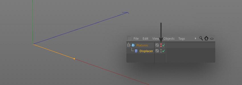 step 9 creat geometric - نحوه ی ساخت قلموی سه بعدی هندسی فوتوشاپ با Cinema 4D
