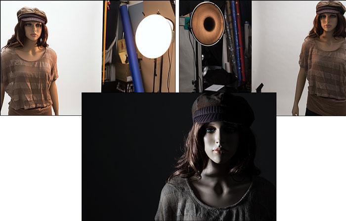 Different Lighting Uses For Studio 11 - انواع نورپردازی در عکاسی پرتره
