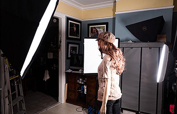 Different Lighting Uses For Studio 8 - انواع نورپردازی در عکاسی پرتره