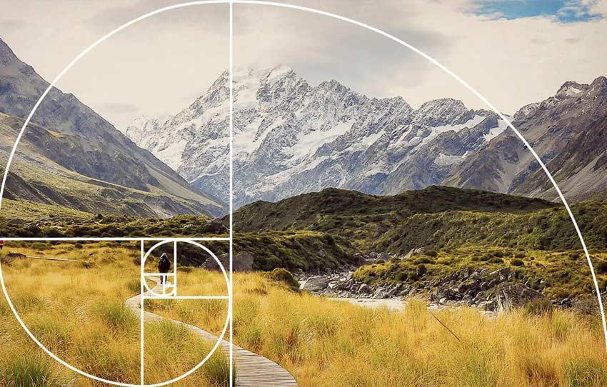 The Psychology of the Spiral - نسبت طلایی در عکاسی