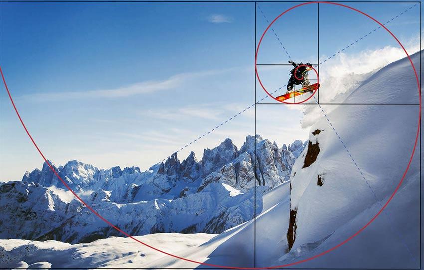 Visualizing the Spiral - نسبت طلایی در عکاسی