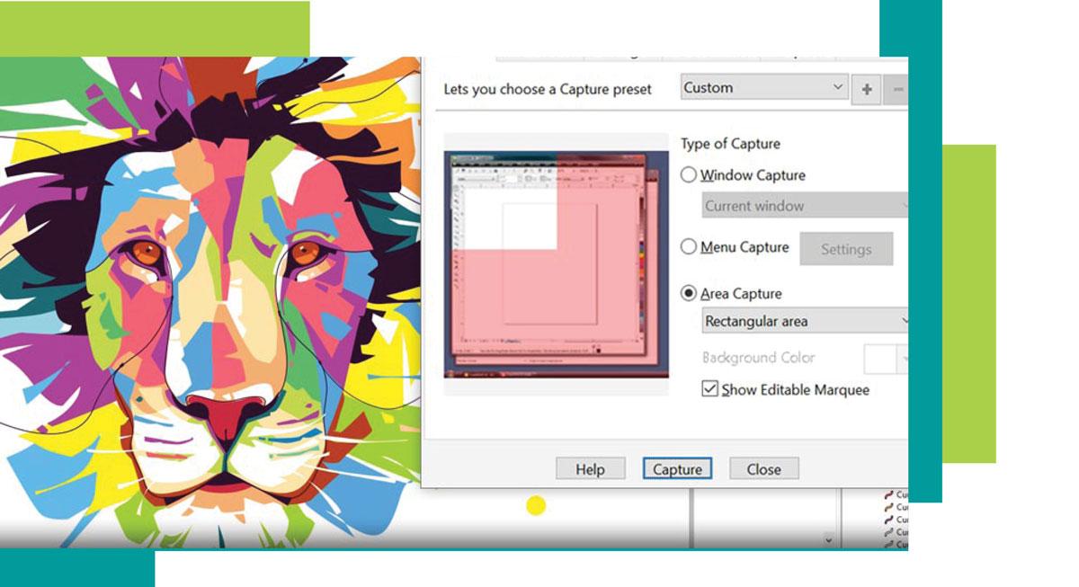 corel graphic 2 - کاربرد کورل در گرافیک