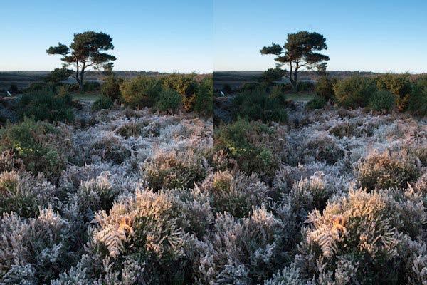 focusstacking - عکاسی واضح و شارپ از منظره : فاصله ی ابر کانونی و انتخاب گشودگی دیافراگم