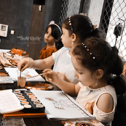 honarkodak esl19 - مزایای هنر برای کودکان - چشم انداز ESL