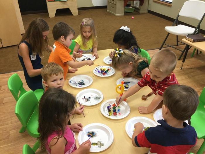 preschoolers - ده دلیل اهمیت بسیار هنر در آموزش و پرورش کودکان