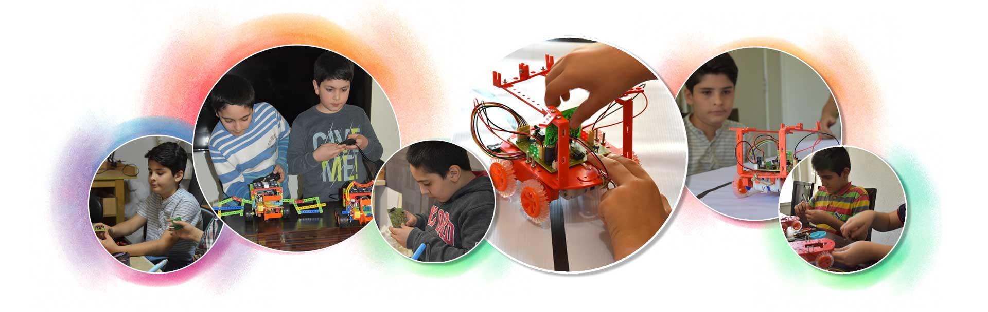 robatic 7 - آموزش رباتیک نوجوانان