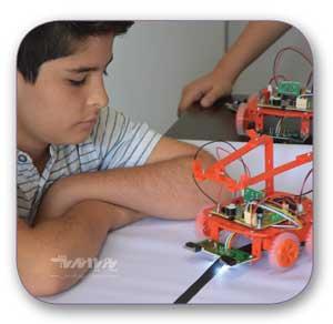 robatic nojavan - آموزش رباتیک نوجوانان