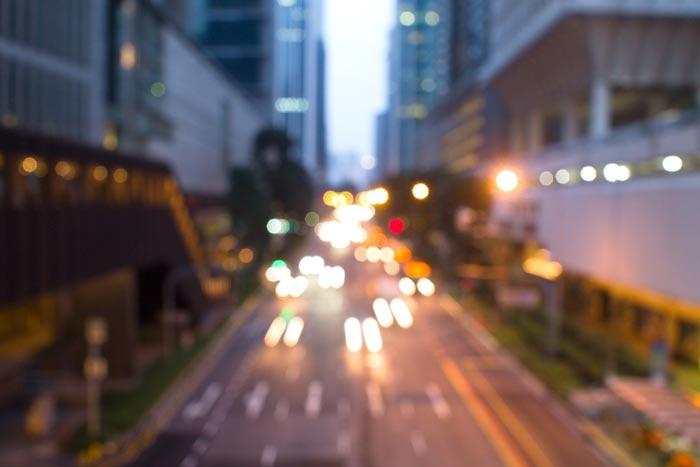 Aperture Priority mode - نکاتی برای عکاسی خارج از فوکوس بوکه شهری در ساعت آبی