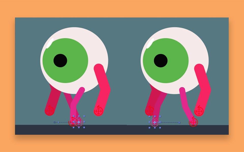 BRINGING YOUR  CHARACTER TO LIFE step5 - ساخت موشن گرافیک ، چطور موشن گرافیک بسازیم؟