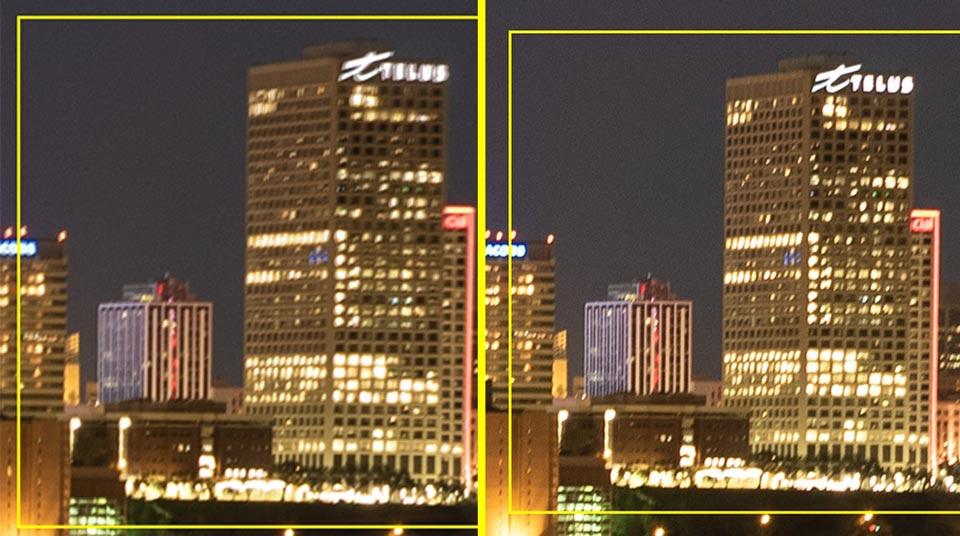 Blending for ISO Performance 6 - چگونگی بالابردن کیفیت عکاسی در نور کم با افزایش ISO