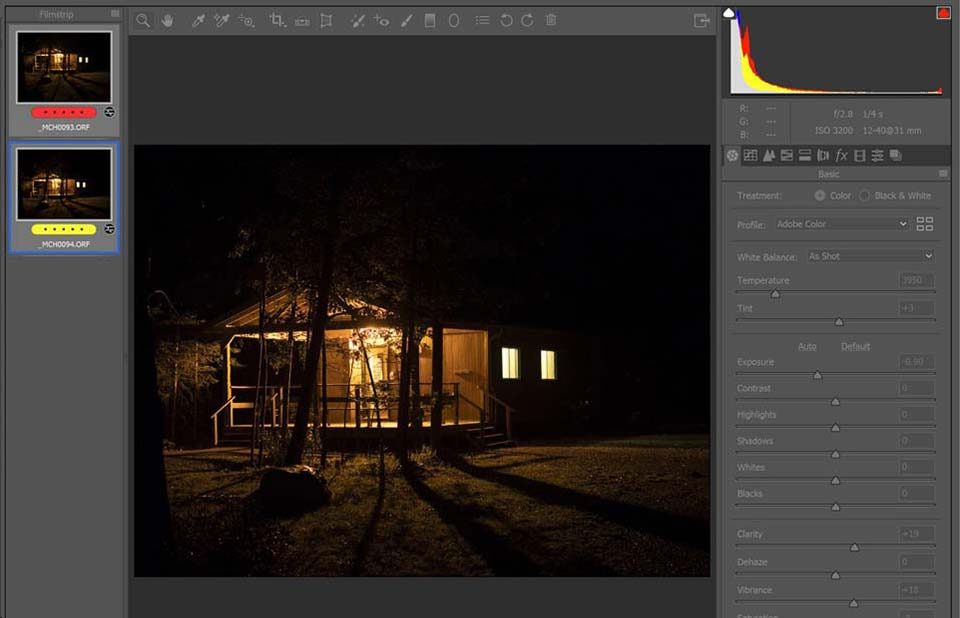 Blending for ISO Performance photoshop - چگونگی بالابردن کیفیت عکاسی در نور کم با افزایش ISO