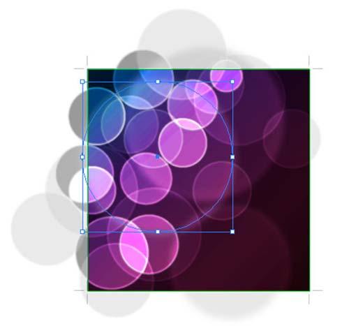 Bokeh vector background step14 - نحوه ساخت پس زمینه بوکه در ایلوستریتور