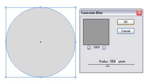 Bokeh vector background step7 - نحوه ساخت پس زمینه بوکه در ایلوستریتور