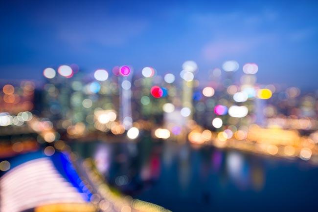 Find  location with enough lights - نکاتی برای عکاسی خارج از فوکوس بوکه شهری در ساعت آبی