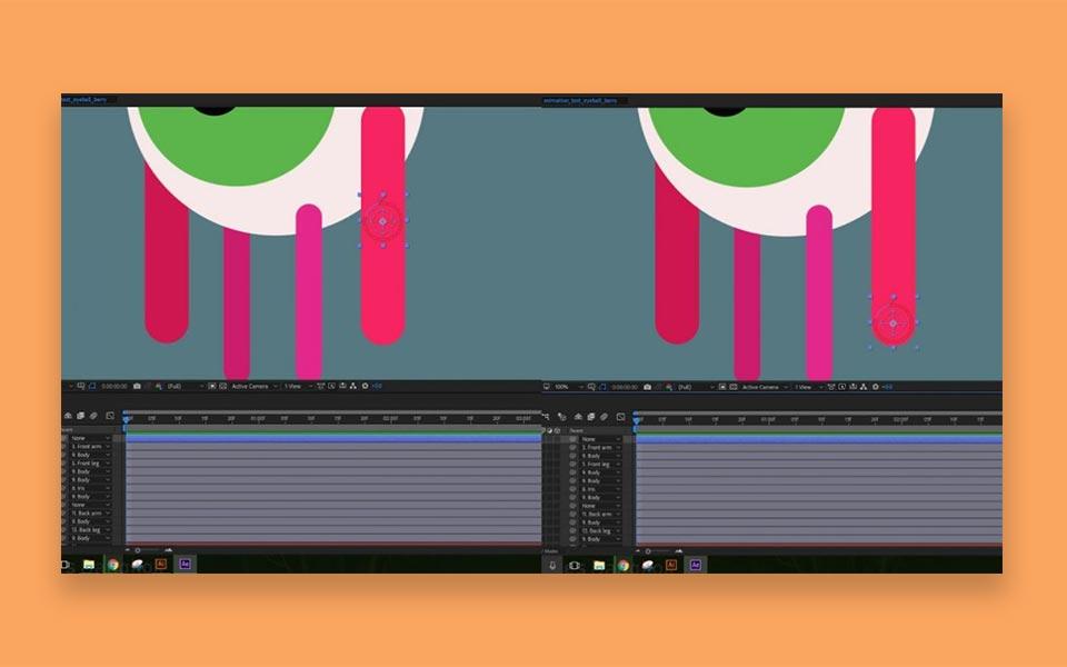 RIGGING YOUR CHARACTER step2 - ساخت موشن گرافیک ، چطور موشن گرافیک بسازیم؟