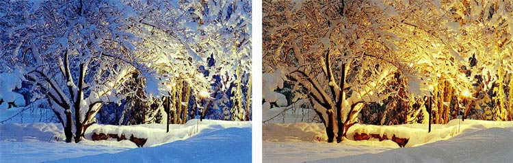 White Balance Alaska - چگونهتعادل رنگ در عکاسی می تواند رنگ تان را از بین ببرد ؟
