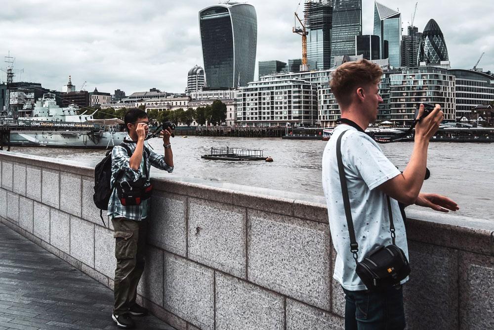 عکاسی خیابانی و محیط