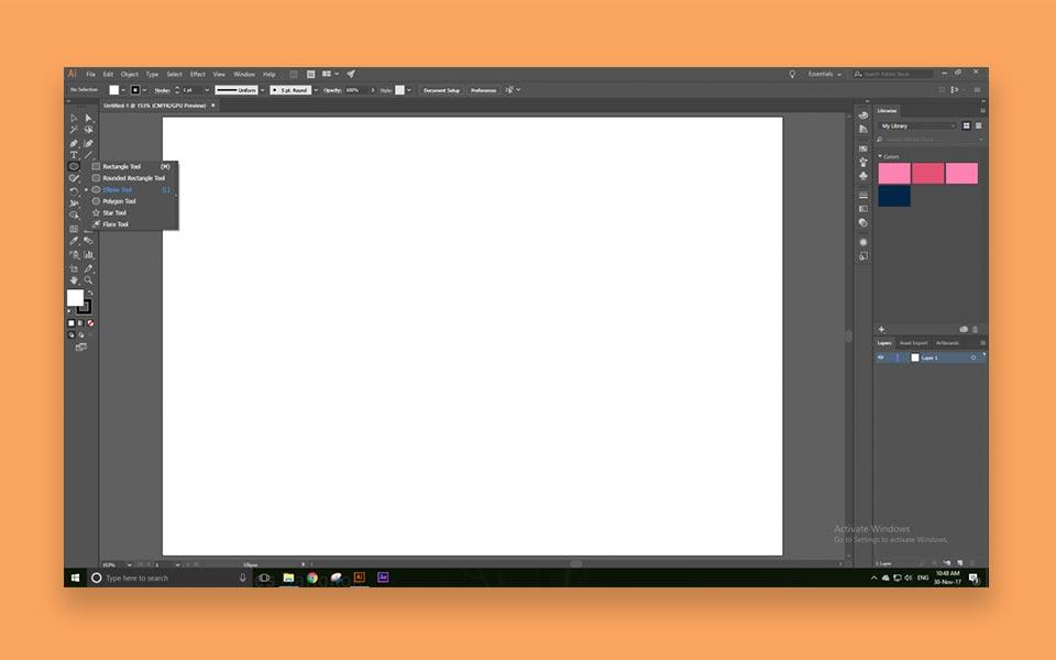 creating your charecter step1 - ساخت موشن گرافیک ، چطور موشن گرافیک بسازیم؟