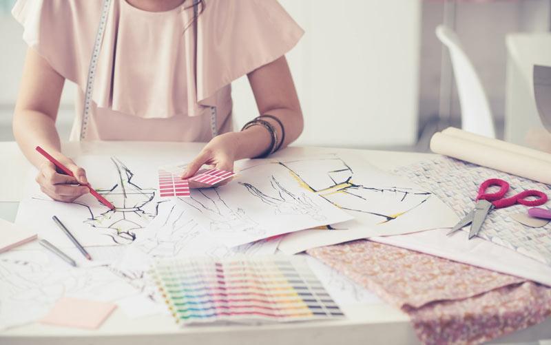 fashion designer - مسیر شغلی تصویرگری