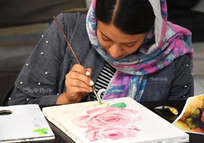 naghashi nojavanan class pouyaandish - آموزشگاه پویا اندیش - مرکز آموزش های تخصصی هنر