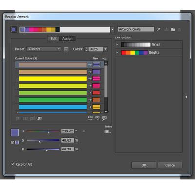 recolorartwork 7 - 10 نکته و ابزار ضروری برای کسانی که کار با Adobe Illustrator را شروع کرده اند