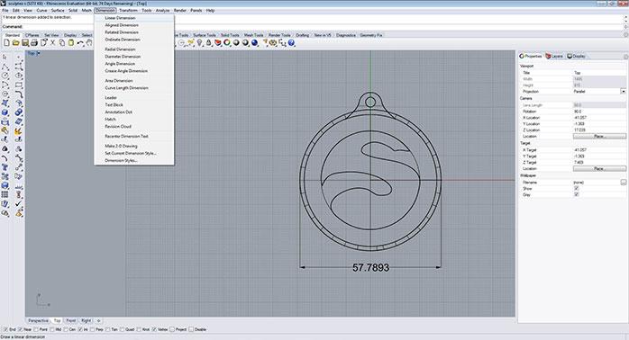 rhino Grid adjustment step 2 - مدل های Rhino: طراحی یک فایل سه بعدی قابل چاپ