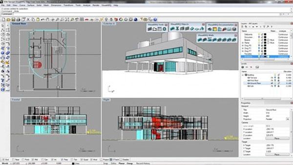 rhino for interior design - راینو برای معماری