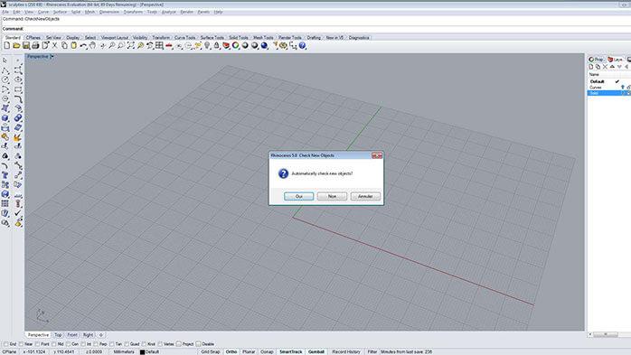 rhino verification step - مدل های Rhino: طراحی یک فایل سه بعدی قابل چاپ
